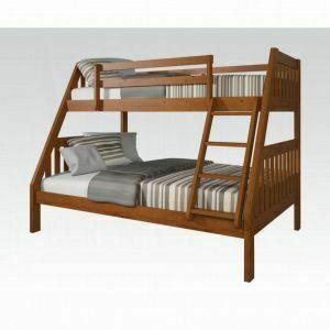 Acme Furniture Inc - ACME Ryo Twin/Full Bunk Bed - 37125B - Oak