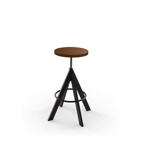 Uplift Screw Stool (wood)