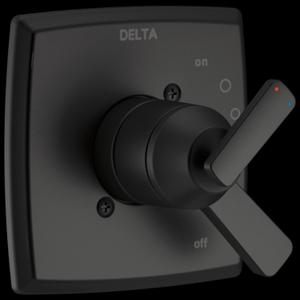 Matte Black Monitor ® 17 Series Valve Only Trim Product Image