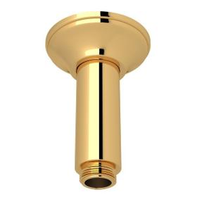 "Italian Brass 3"" Traditional Ceiling Mount Shower Arm"