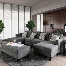 See Details - Lowry Sectional W/ Ottoman
