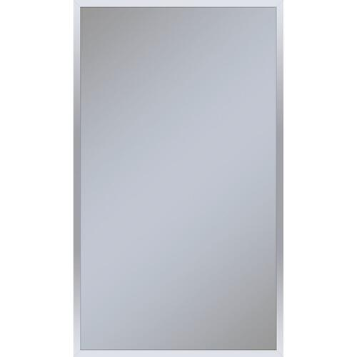 """Profiles 23-1/4"""" X 39-3/8"""" X 4"""" Framed Cabinet In Chrome and Non-electric With Reversible Hinge (non-handed)"""