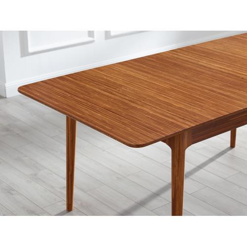 Greenington Fine Bamboo Furniture - Mija Extensible Dining Table, Amber