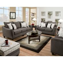 See Details - 3850 - Flannel Seal Sofa