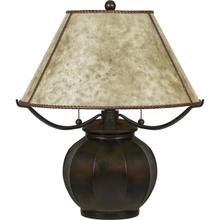 Mica Table Lamp in Valiant Bronze