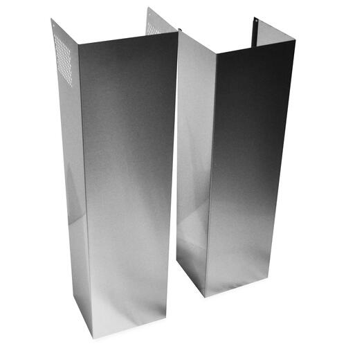 Whirlpool - Wall Hood Chimney Extension Kit - Stainless Steel Stainless Steel