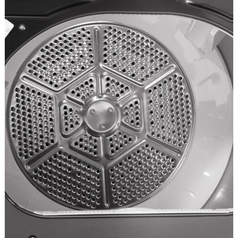 GE® 7.4 cu. ft. Capacity Smart aluminized alloy drum Electric Dryer with Sanitize Cycle and HE Sensor Dry