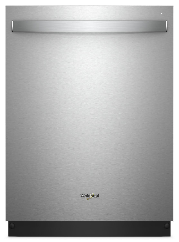 WhirlpoolStainless Steel Tub Dishwasher With Third Level Rack Fingerprint Resistant Stainless Steel