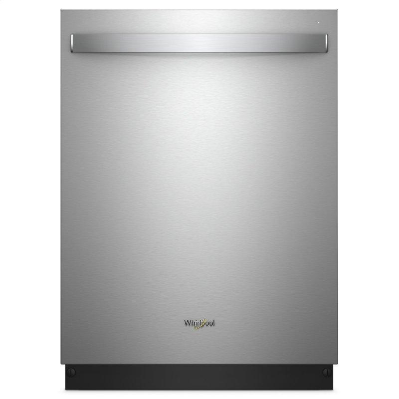 Stainless Steel Tub Dishwasher with Third Level Rack Fingerprint Resistant Stainless Steel