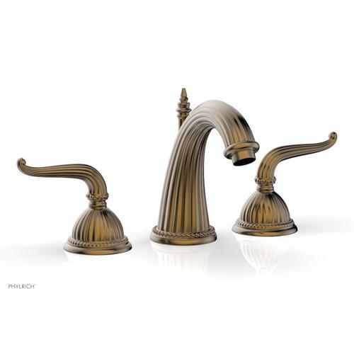 GEORGIAN & BARCELONA Widespread Faucet High Spout K360 - Antique Brass