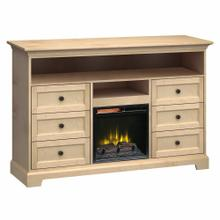 See Details - FT63D Extra Tall Fireplace Custom TV Console