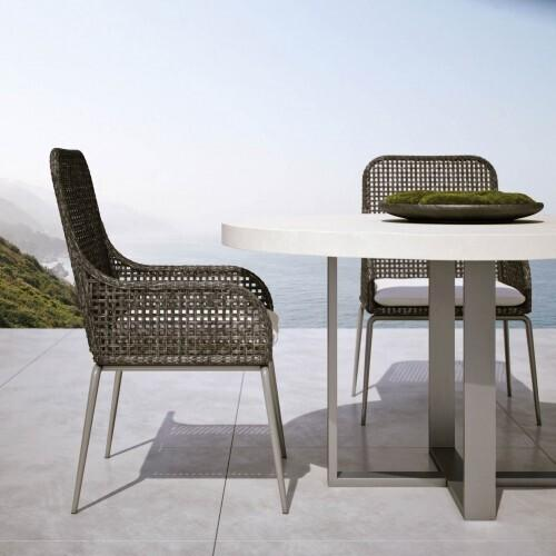 Del Mar Round Dining Table