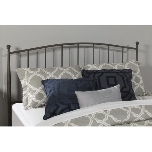 Warwick Full Headboard With Frame (gray Bronze)