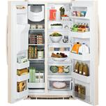 GE ENERGY STAR® 25.3 Cu. Ft. Side-By-Side Refrigerator