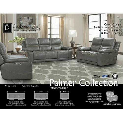 PALMER - GREIGE Power Reclining Collection