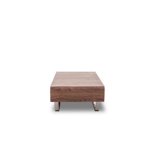 VIG Furniture - Modrest Avis - Modern Walnut Matte Coffee Table