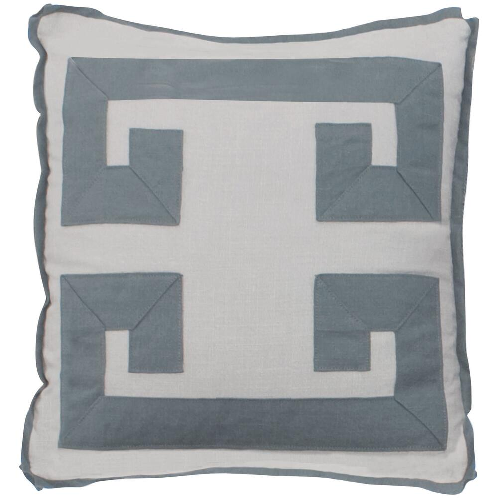 "See Details - Custom Decorative Pillows Double Greek Key (21"" x 21"")"
