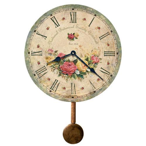 Howard Miller Savannah Botanical Society VI Wall Clock 620401