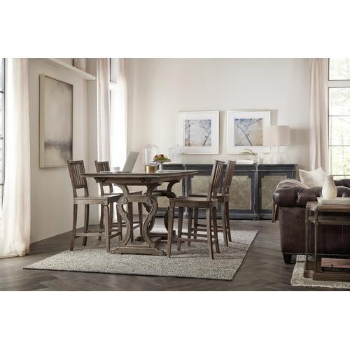 Hooker Furniture - Woodlands Friendship Table w/2-12in Leaves