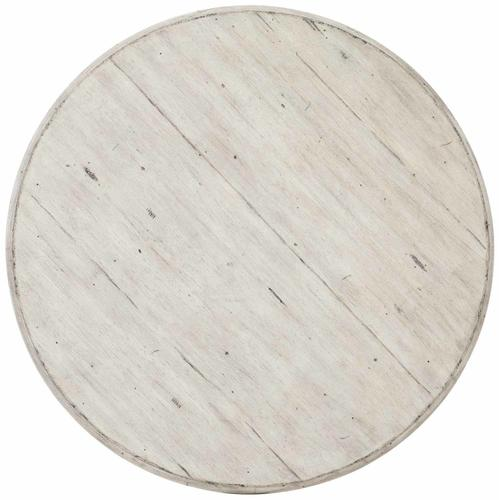 Mirabelle Round Side Table in Cotton (304), Carbon (304)