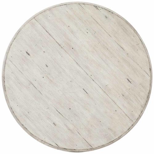 Bernhardt - Mirabelle Round Side Table in Cotton (304)
