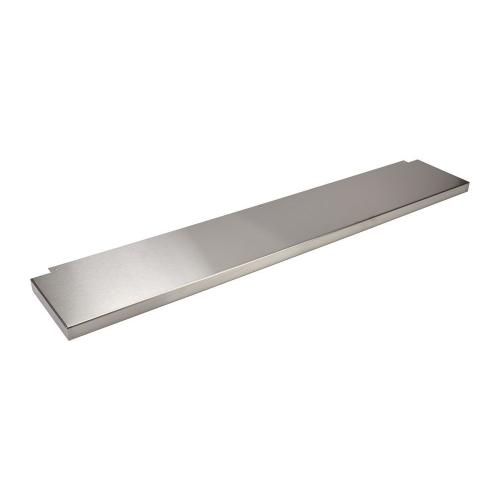 """Gallery - 9 Inch High Backguard - for 48"""" Range or Cooktop"""