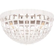 AERIN Mill 3 Light 15 inch Plaster White Flush Mount Ceiling Light, Small