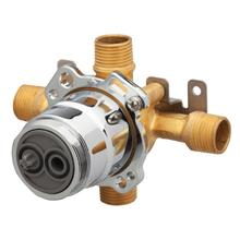 New - Treysta® Tub & Shower Valve- Horizontal Inputs Without Stops- Ips/sweat