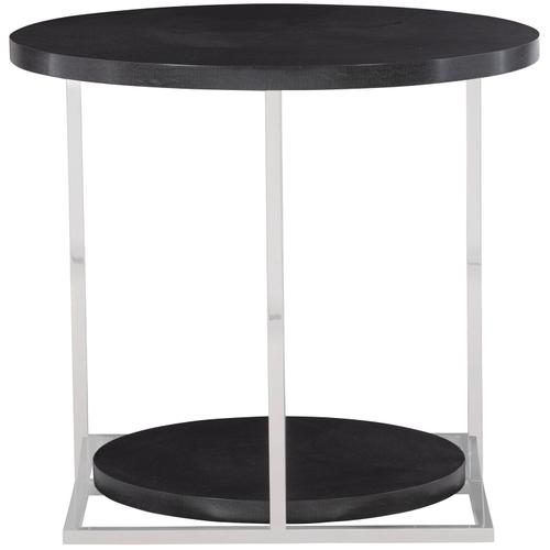 Silhouette Side Table in Figured Onyx (307)