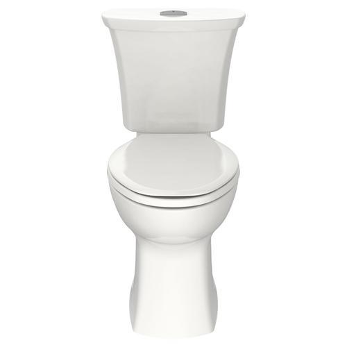 Edgemere Elongated Dual Flush Toilet  American Standard - White