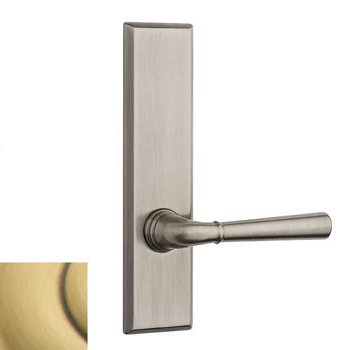Baldwin - Satin Brass and Brown Concord SD004 Screen Door