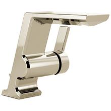 Polished Nickel Single Handle Bathroom Faucet
