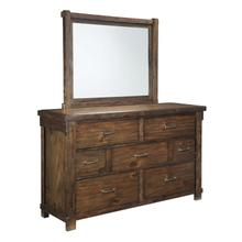 Lakeleigh Bedroom Mirror Brown