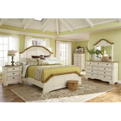 Oleta Cottage Brown Eastern King Four-piece Set