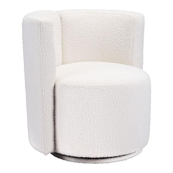 See Details - Prague Accent Chair White