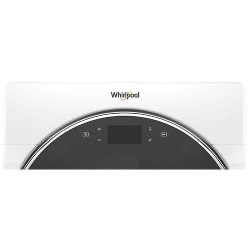 Whirlpool - 7.4 cu. ft. Smart Front Load Electric Dryer White