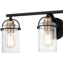 View Product - Emerson Bath Light in Matte Black