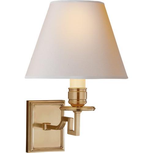 Alexa Hampton Dean 1 Light 8 inch Natural Brass Decorative Wall Light