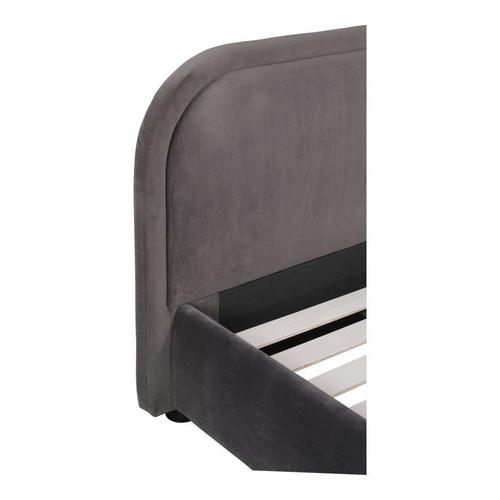 Moe's Home Collection - Colin Queen Bed Charcoal