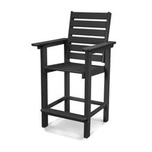 Black Captain Counter Chair