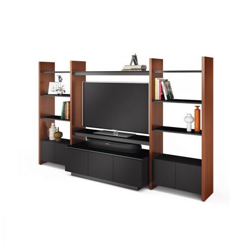 BDI Furniture - Semblance Systems ® 5423-TJ in Chocolate Stained Walnut Black