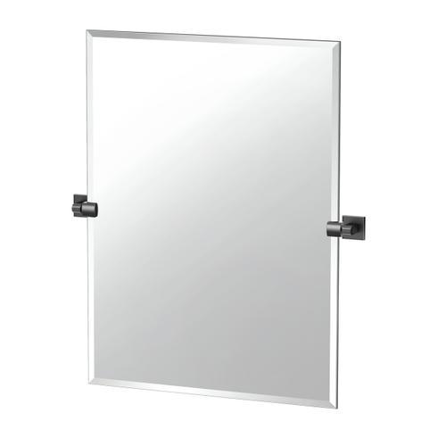 Mode Rectangle Mirror in Matte Black