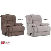 4215P-191 Power Rocker Recliner with H&M - Pebble