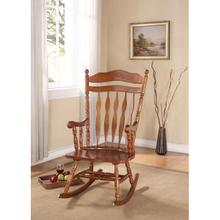 DARK WALNUT ROCKING CHAIR