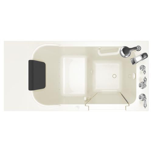 Premium Series  28x48-inch Walk-in Tub  Right Drain  Air Spa  American Standard - Linen