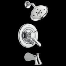 Chrome Monitor ® 17 Series H 2 Okinetic ® Tub & Shower Trim