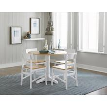 See Details - Dining Table - Oak/White Finish