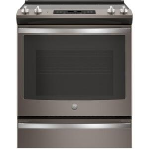 "GE®30"" Slide-In Electric Convection Range"