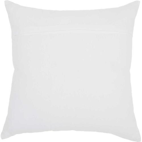 """Trendy, Hip, New-age Jb210 White 18"""" X 18"""" Throw Pillow"""