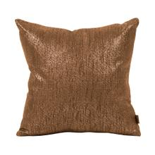 "Pillow Cover 16""x16"" Glam Chocolate (Cover Only)"